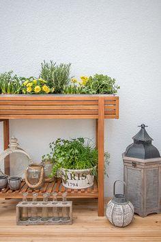 Akazie Von DEPOT Mit Frühlingsblühern U0026 Kräutern Bepflanzt. Ein Schöner  Beitrag Von @stylishlivinghh Auf