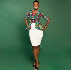 Blusa de pano africano