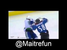 Hockey fight - Tom Sestito vs Patrick Bordeleau 27-3-2014 Hockey, Of Montreal, Toms, Field Hockey, Tom Shoes