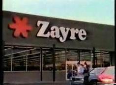Oh yessssss! I remember Zayre!