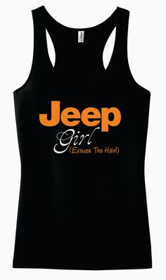 Jeep Girl Racerback Tank Top by AdSpecial on Etsy