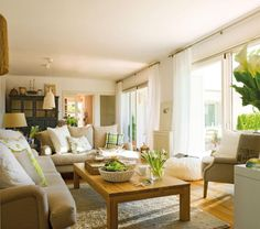 natural home decor with warm colors /summer feeling all year.. / :)
