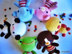 Amigurumi Free Patterns Beginners : Free amigurumi candy pattern zan crochet amigurumi key chains