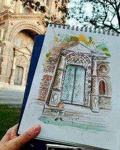 Urban Sketching, Personalized Items, Urban Sketchers