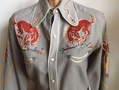 Vintage Embroidered Frontex Model Western by Wingsandbeaksvintage, $450.00