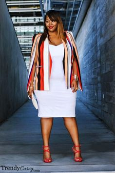 36 Professional Work Outfit Ideas For Plus Size Women - Outfit Ideen Stylish Work Outfits, Curvy Outfits, Mode Outfits, Fall Outfits, Fashion Outfits, Womens Fashion, Fashion Ideas, Fashion Quotes, Plus Size Fall Outfit