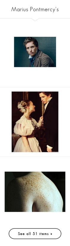 """""""Marius Pontmercy's"""" by gica-608 ❤ liked on Polyvore featuring les miserables, eddie, eddie redmayne, les mis, models, pictures, backgrounds, people, pics and photos"""