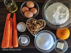Морковный торт простой рецепт - Mom Story