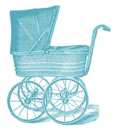 This vintage advertisement for an elegant baby carriage with parasol to match is from the April 1894 issue of The Delineator magazine. Description from blogs.rediff.com. I searched for this on bing.com/images