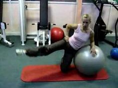 fitball leg circle - YouTube Get training with your smartphone www.fitia.ca