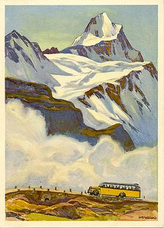 Rare and old authentic posters collection Vintage Ski, Vintage Travel Posters, Graphic Design Illustration, Illustration Art, Belle Epoque, Illustrations Vintage, Snow Place, Alpine Style, Tourism Poster