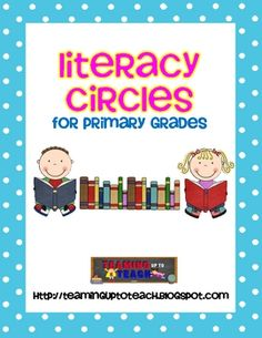 This is the perfect resource for starting Literacy Circles in your classroom. You can use these in small guided reading groups, or as a whole class...