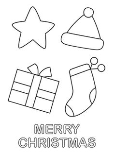 Free Printable Christmas Coloring Pages for Kids | Mr Printables