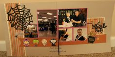 Artsy April: A Kiddie Halloween Yearly, Photo Wall, Artsy, Scrapbook, Halloween, My Love, Frame, Color, Picture Frame