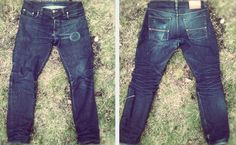 Livid Jeans. 10 months of wear. No wash.
