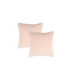 Buy Maspar Peach Cotton Solid Cushion Cover Set Online - Solids - Cushion Covers - Pepperfry