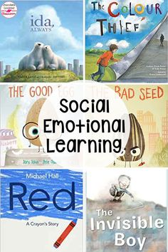 This blog post highlights the six best picture books for social emotional learning. These books will help elementary kids to learn about mental health, social skills, identity, kindness, perfection and labels. This blog post has my 6 must-have SEL books to add to your classroom library. These books are great for read alouds, Morning Meeting, classroom discussions, counselors, health class and more! Social-emotional intelligence can be taught through these stories! #fifthgrade #picturebooks Social Emotional Learning, Social Skills, Health Class, Mental Health, Interactive Read Aloud, Differentiated Instruction, Classroom Community, Reading Workshop, Help Teaching