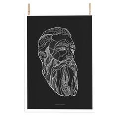 The posters by Paper Collective are produced in limited editions of 300 pieces. For every poster sold, Paper Collective donates atleast 15% to charity.