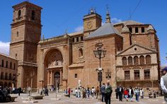 Iglesia de San Andrés, en Villanueva de los Infantes (Ciudad Real),