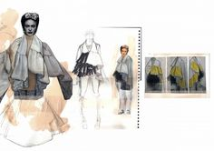 Fashion Sketchbook - fashion design development; fashion illustration; fashion…