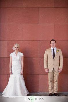 San Diego Hyatt Wedding Photography | poker face!