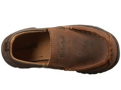 2366bdcc7d56 Timberland Kids Discovery Pass Slip-On (Toddler Little Kid) Boys Shoes Brown