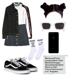 """#122"" by tamar4eveselinoska on Polyvore featuring J Brand, Tommy Hilfiger, MANGO, Yeah Bunny and CÉLINE"