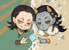 Two Lokis