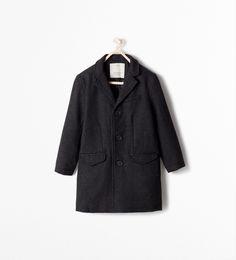 Image 1 de MANTEAU LONG REVERS de Zara