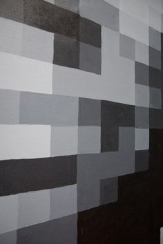 DIY—could be used to turn a photo into a pixelated painting (or do the paint chip equivalent)