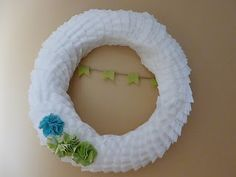 I recently completed this coffee filter wreath. I had pinned a coffee filter wreath a while back and thought it looked like a fun proj. How To Make Wreaths, Crafts To Make, Crafts For Kids, Arts And Crafts, Diy Crafts, Coffee Filter Wreath, Coffee Filter Crafts, Coffee Filters, Patriotic Cupcakes