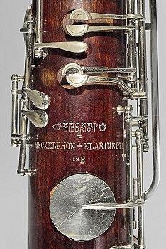 The extremely rare Heckelphon-Klarinette