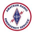 Amateur radio emergency service ARES training