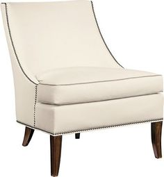 Haddon Lounge Chair from the Suzanne Kasler® collection by Hickory Chair Furniture Co.