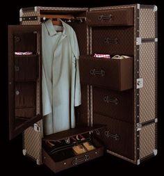 Steamer Trunk Wardrobe