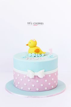 Tarta Patico - Duck Cake ^^