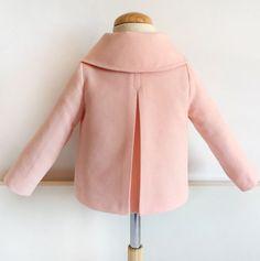 Chaqueta de niña: DIY - Patronesmujer: Blog de costura, patrones y telas.