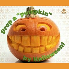 An average pumpkin weighs 8-15 pounds and you could drop that by Halloween!!! More  energy, more clarity, the release of toxins plus weight loss are just a few of the side effects many people experience on our program!!! Inbox me for details!! Recipes, real food, support and results!!! Next group starts Oct. 5th.