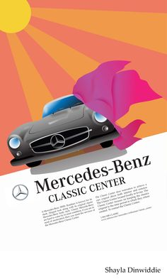 1000 images about vintage mercedes benz poster designs on for Mercedes benz classic center