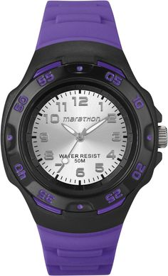 Timex T5K580 Jelly Purple Marathon Watch -- Continue to the watch at the image…
