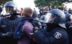 Fuertes enfrentamientos entre policía y manifestantes en las protestas por la cumbre del G-20