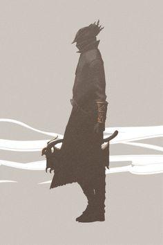 Art of Dark Souls <<< That's bloodborne Arte Dark Souls, Soul Saga, Bloodborne Art, Old Blood, Blood Art, Anime Sketch, Video Game Art, Dark Art, Comic Art