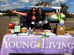 Great ideas here! supply list for an event or fair to promote YL oils