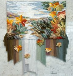 Magic tapestries made by Yuriy Nikolayevich Hovsepian and his disciples entirely by hand