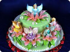 """Детский торт """"Феи Винкс"""". Рекомендуемый вес 4кг.  Высота торта 30см"""