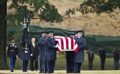 """On Christmas Eve 1965, an Air Force plane nicknamed """"Spooky"""" sent out a """"mayday"""" signal while flying over Laos, and after that, all contact was lost.  47 years later, their bodies were interred at Arlington National Cemetery, on July 9, 2012."""