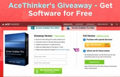 Review and Giveaway of AceThinker Screen Grabber Pro | Technology Review
