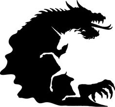 DragonUnicornSil.jpg 453×421 pixels