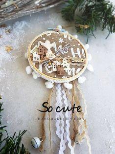 Γουρια Christmas 2019, Christmas Home, Christmas Crafts, Merry Christmas, Christmas Decorations, Xmas, Advent, Lucky Charm, Embroidery Techniques