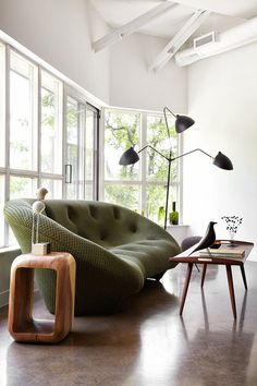 Contemporary Living Room by stephane chamard